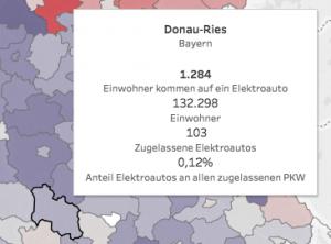Elektromobilität In Deutschland Eine Landkarte Mit Zahlen
