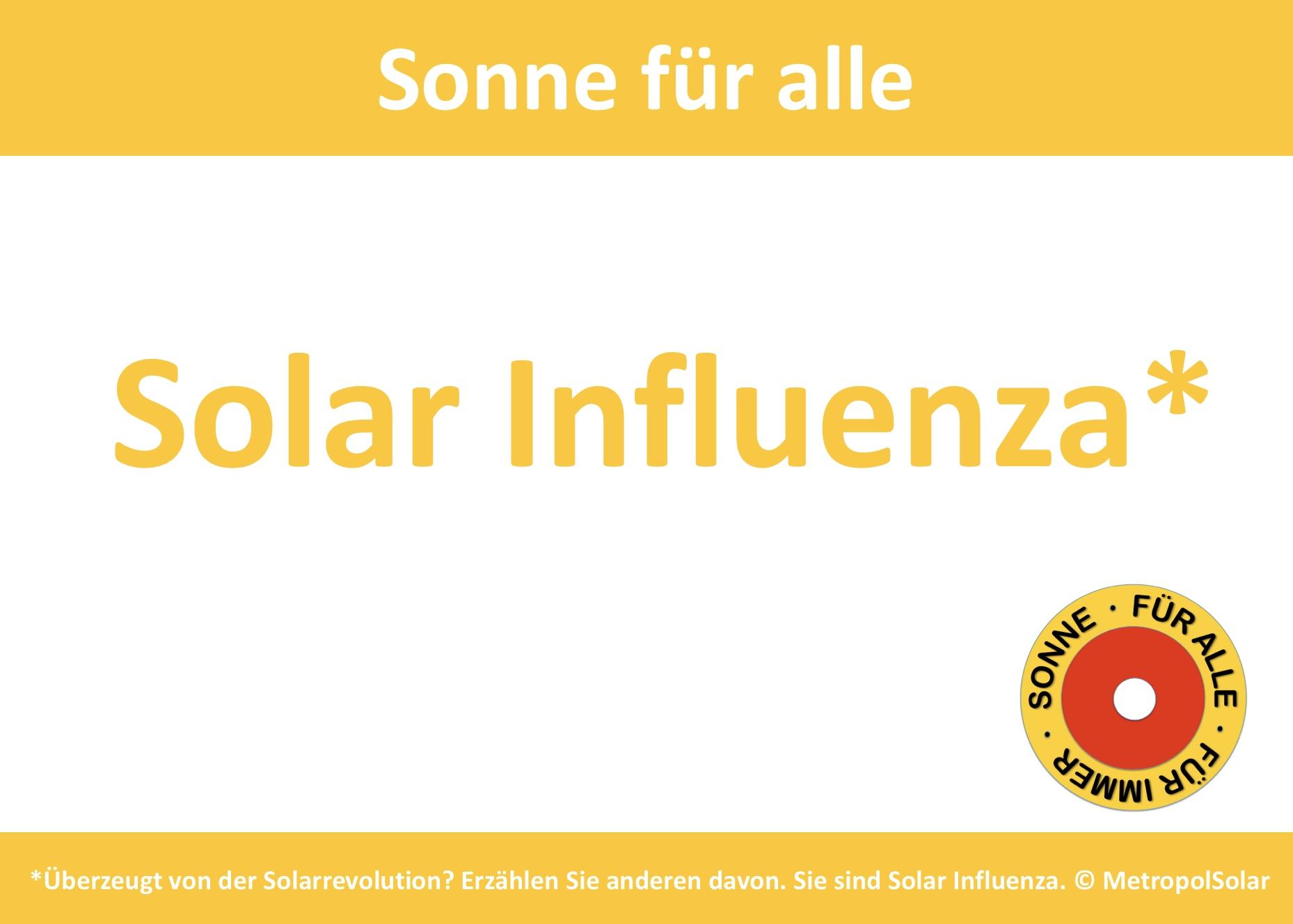 Solar-Influenza