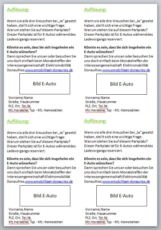 Rückseite E-Mobility-Quiz