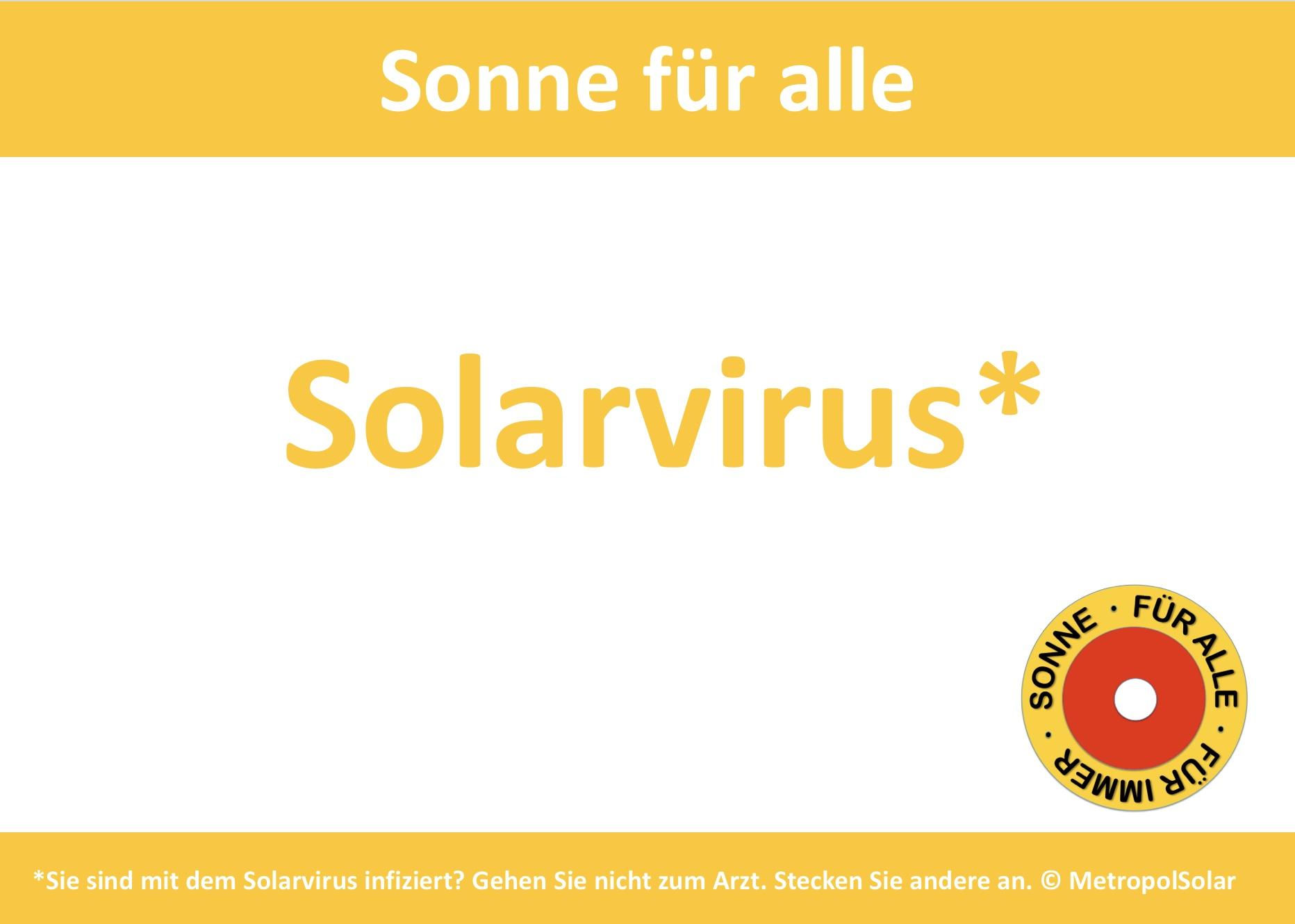 Solarvirus ©Metropolsolar
